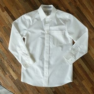 EUC Boy's White Shirt for Suit - Long Sleeved